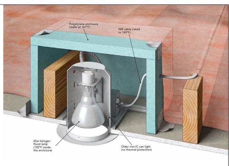 FineHomebuilding Homes Energy-Smart Winter 2016: izolacja paroszczelna oświetlenie - własna konstrukcja