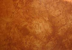 """""""Estucado""""Esta técnica realmente no es una pintura, sino una pasta de cal y mármol pulverizado. El estuco es un tipo de revestimiento para paredes lisas que da como resultado diferentes texturas y que se genera al mezclar materiales como el yeso, mármol en polvo, cal apagada y ciertos pigmentos.Se utiliza para la decoración de las paredes y el acabado definitivo se debe barnizar con aguarrás y cera."""