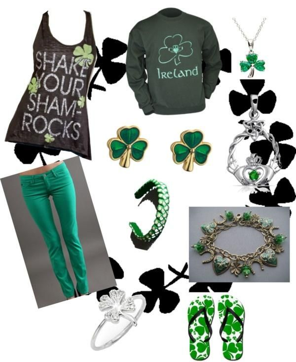 10 ideas on how to look amazing on St. Patrick's Day | Zoobe Blog #golden #green #dress #skirt #outfit #amazing #fashion #accessorise #girl #StPatrick #StPatricksDayoutfit