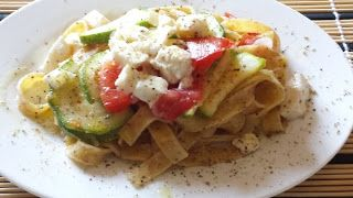 "Teresa O'Day's recipe is from the Umbria region and in particular is from a town called ""Giove"". #Fettuccine primavera."