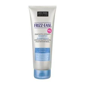 John Frieda Frizz-Ease Smooth Start Shampoo is een milde shampoo tegen pluizend haar. Deze Smooth Start Shampoo zorgt dat je de dag goed begint, zonder pluizend haar. Deze shampoo hydrateert het droge haar tot in de vezel, zodat je haar beschermt is tegen pluizen. Deze shampoo is verrijkt met