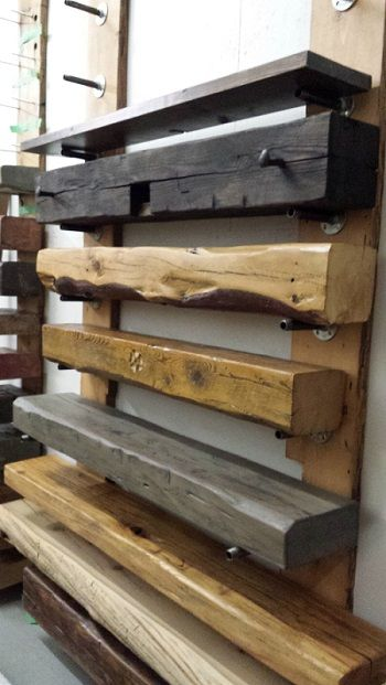 Barn beam mantels from Rebarn | 10 | Pinterest | Mantels ...
