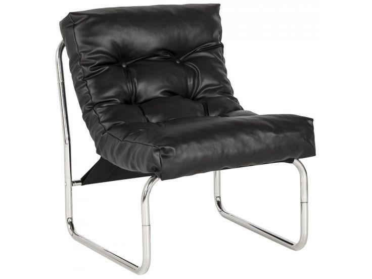 Fotel Boudoir czarny — Fotele Kokoon Design — sfmeble.pl