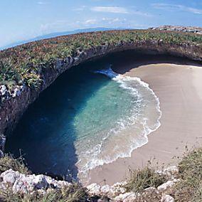 Der wohl versteckteste Strand der Welt