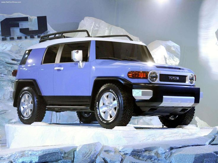 Toyota FJ Cruiser~Someday I will have one of these babies fully loaded but not this color.