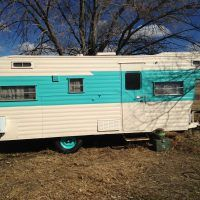 1964 Holiday Rambler- Overhead Bunk - Trailers for Sale - Show Ad - Tin Can Tourists