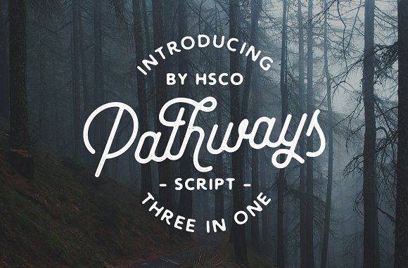 Pathways   4 Styles + Bonuses by Hustle Supply Co. on @creativemarket