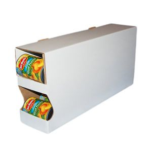 """Pantry Organizer 4 Pack: 10 3/8"""" x 5"""" x 22.5"""" (13 pie filling, 16 vegetable, 18 soup, or 39 tuna)"""