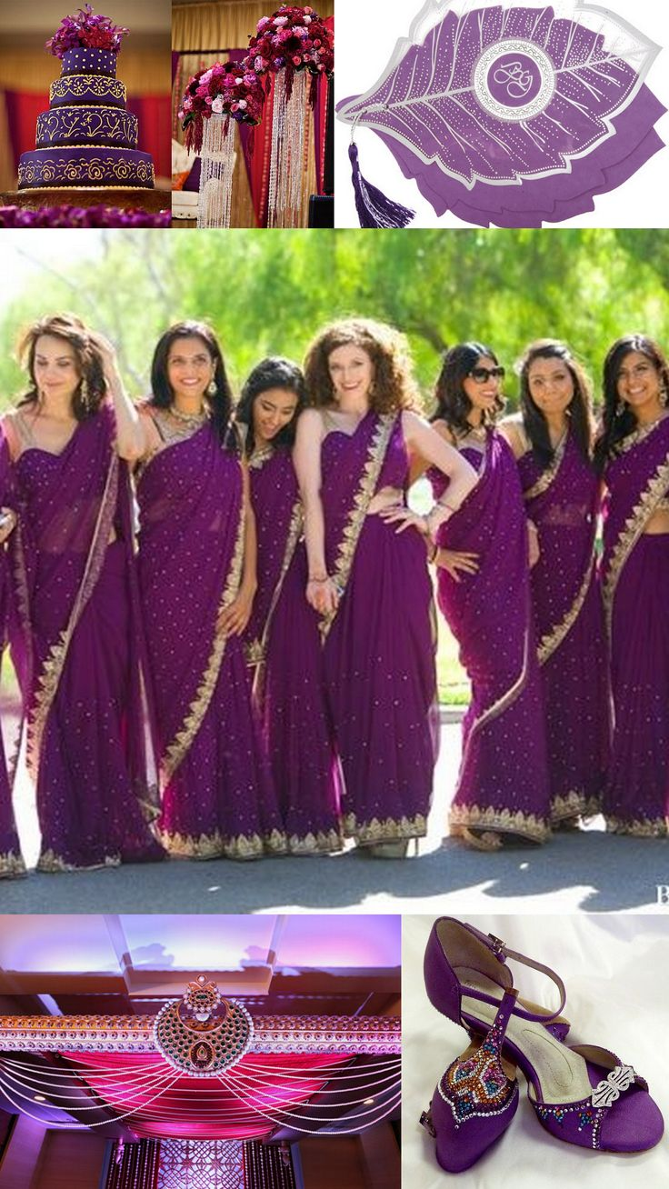 9 best bridesmaids images on pinterest indian weddings wrap your wedding invitations in the beauty of india with this purple invitation shop a2zweddingcards indian bridesmaid dressesindian ombrellifo Choice Image