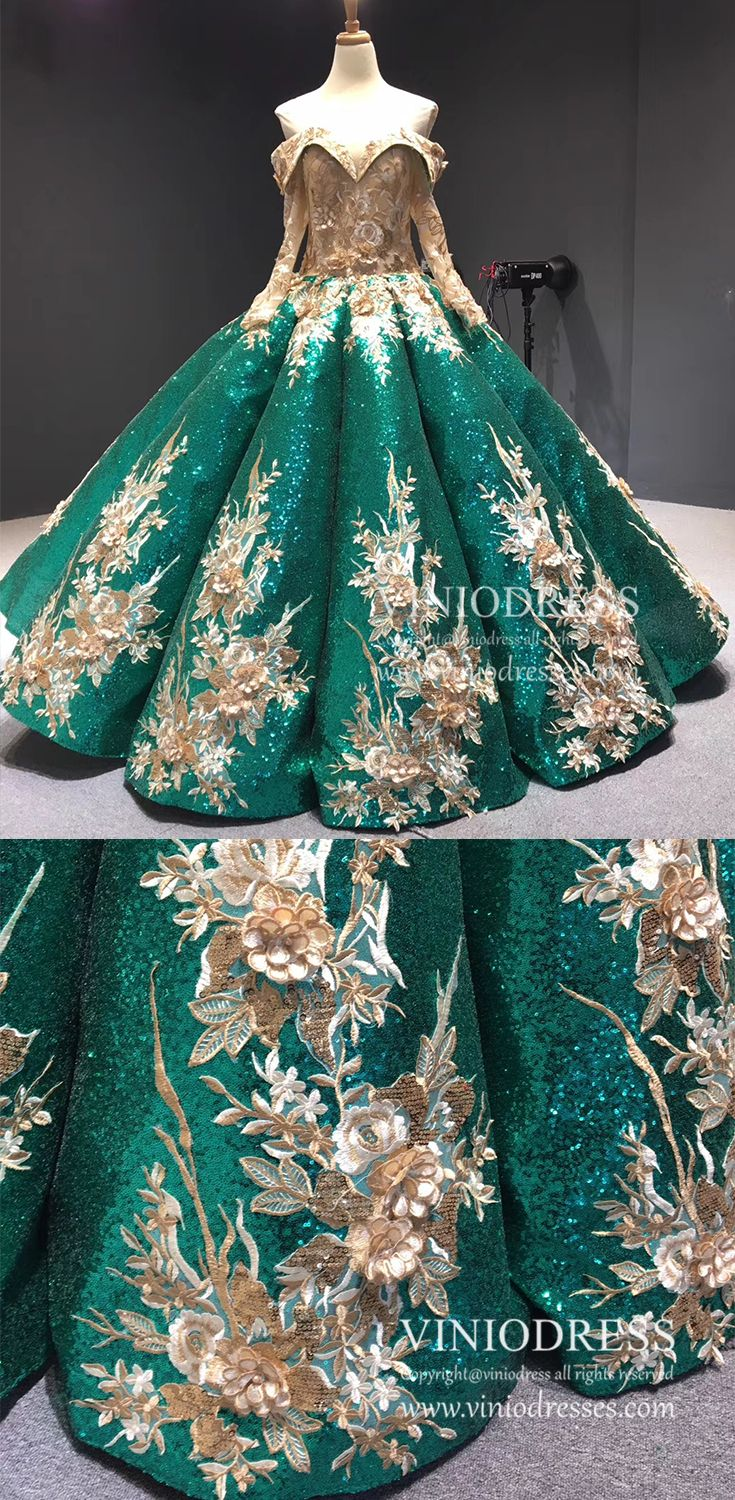 Burgundy Gold Vintage Princess Ball Gowns Sparkly Long Prom Dresses Fd1109 Princess Ball Gowns Prom Dresses Long Prom Dresses [ 1500 x 735 Pixel ]