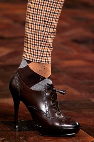 22.Ralph Lauren Нравятся носки, которые видны из под одежды. Нравятся грамотно смешанные принты.