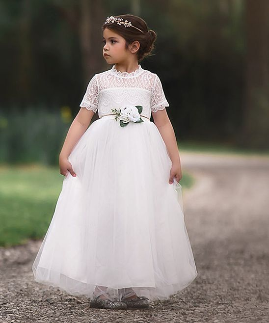 09210c517f43 Trish Scully Child White Gracie Gown - Infant