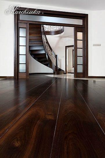 firma Marchewka - SALON www.luksusowewnetrza.eu -www.marchewka.pl -dąb ciemny / dark oak -długość / lenght: 6,5 m -szerokość / width: 24 cm