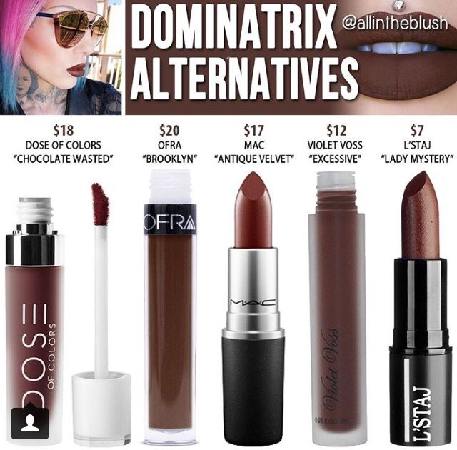 "Jeffree star "" Dominatrix "" dupes // @kathrynglee123"