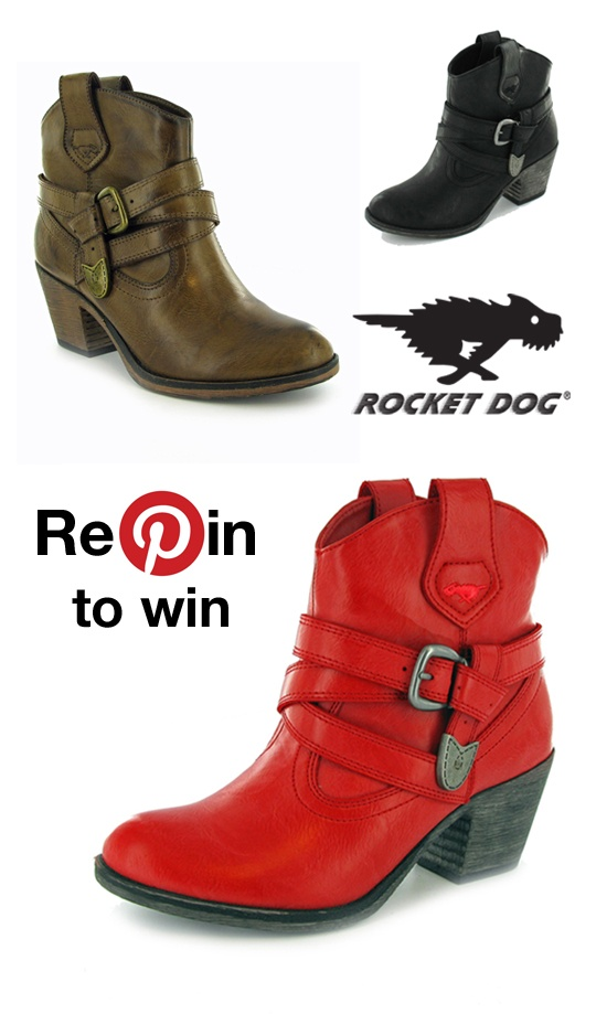Fancy winning a pair of our Satire boots? Have a go at our latest Repin-to-win contest.
