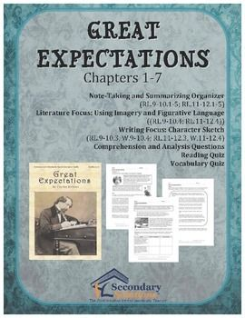 great expectations related text notes New york notes for gcse write-in workbook on great expectations contains a brilliant range of tasks and exercises - all designed to help you learn, practise and test your knowledge of the novel find exercises on every key moment from dickens's classic novel, plus activities on all the characters including pip, joe and miss havisham.