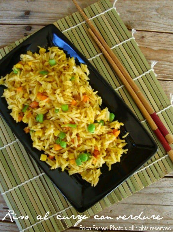 Riso saltato con curry e verdure