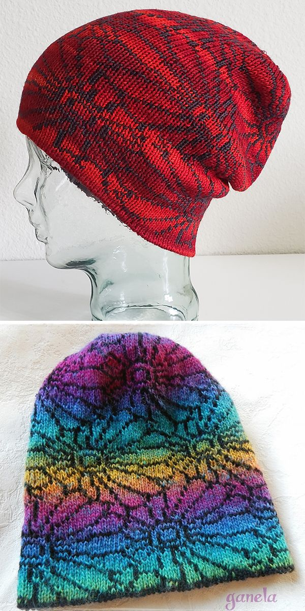 Free Knitting Pattern For Chrysanthemum Hat Knitting Patterns Free Hats Hat Knitting Patterns Double Knitting Patterns