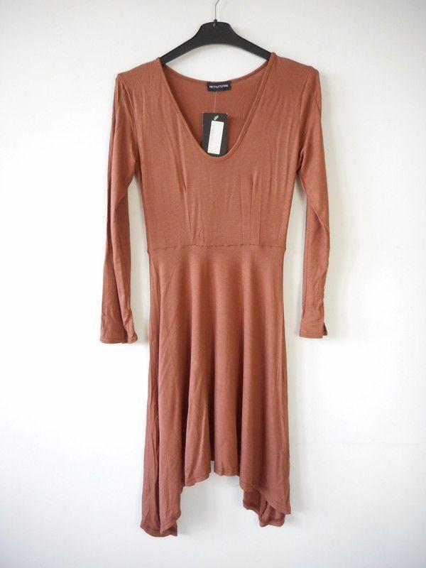 3f3ad2f17b Pretty Little Thing sukienka długi rękaw r. 34 - vinted.pl