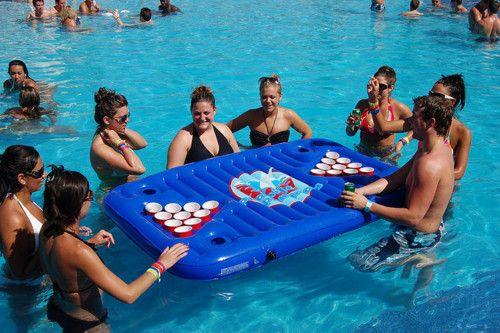 pool beer pong!