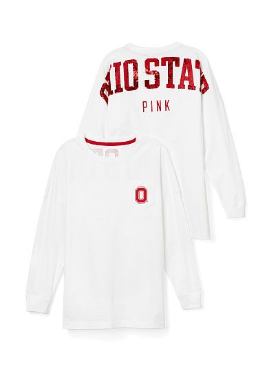 Ohio State University Bling Varsity Crew PINK.....LOVE THIS I WANT ONE FOR XMAS PLEASE