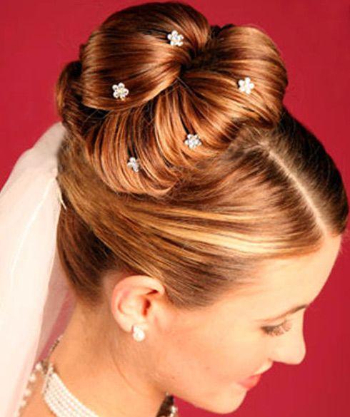 Wedding Hair Up Bun Cdiyg
