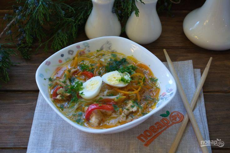 Азиатский куриный суп