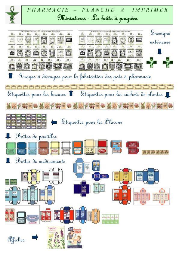 Les 25 meilleures id es de la cat gorie poup es miniatures - Livre de plan de maison ...