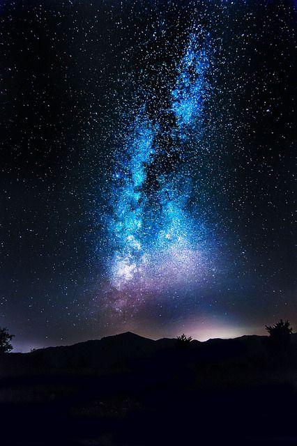 """tulipnight: """"Milky way by GretaLarosa on Flickr. """""""