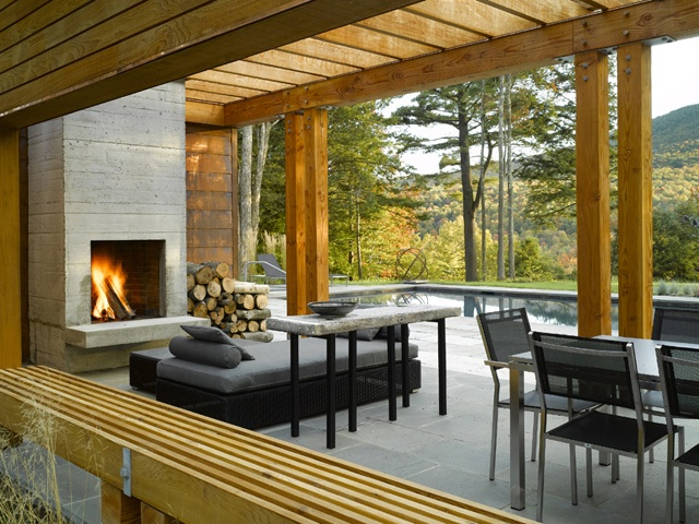 Outdoor fireplaces learn how to design your own outdoor for Design your own fireplace