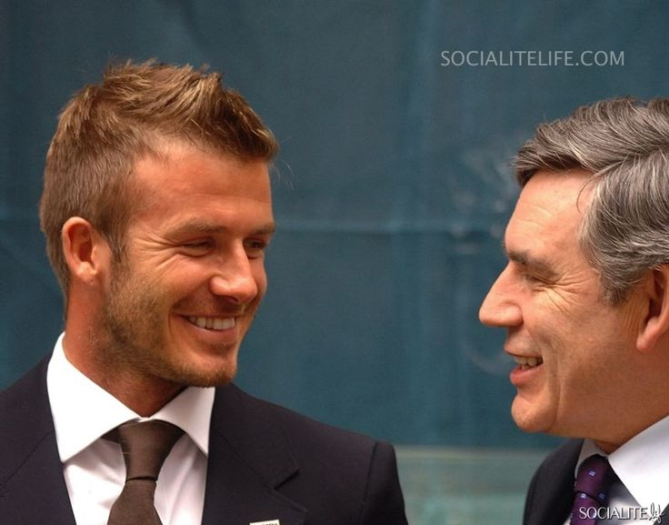 David Beckham and Andy Murray 'Malaria No More' Charity Campaign In London 6