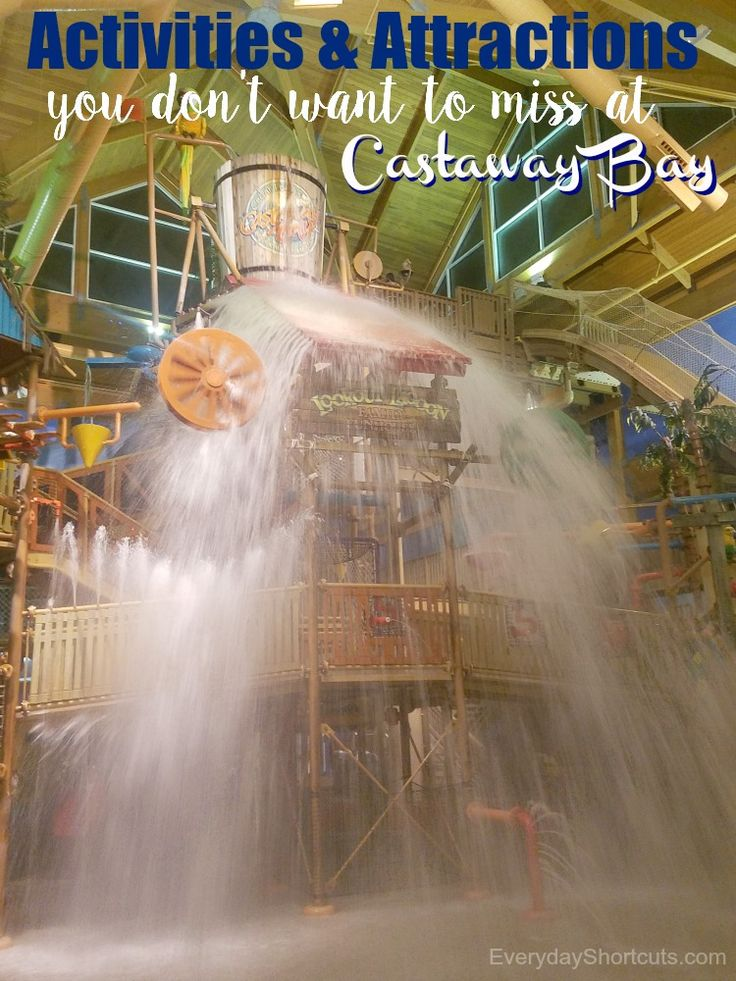 Activities and Attractions You Don't Want to Miss at Castaway Bay