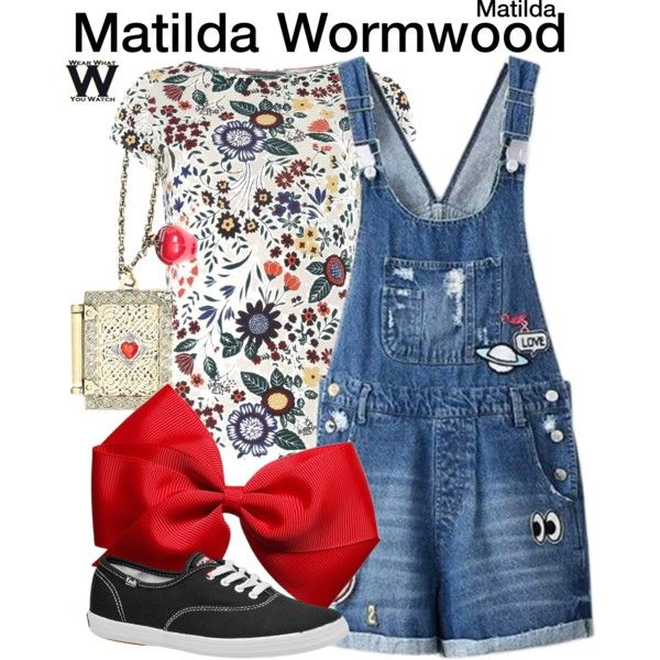 Inspired by Mara Wilson as Matilda Wormwood in 1996's Matilda