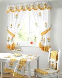 Resultado de imagen para modelos de cortinas de tela para cocina