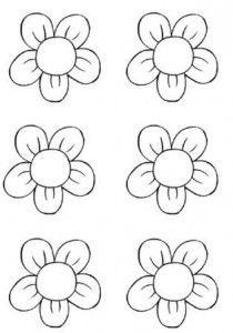 Coloriage Fleur Ms.L Activite De Decoupage En Maternelle Ps Ms Gs A Imprimer