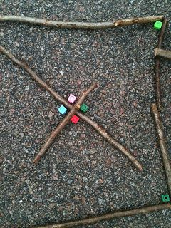 Outdoor Maths: investigating right angles with sticks — Creative STAR Learning | I'm a teacher, get me OUTSIDE here!
