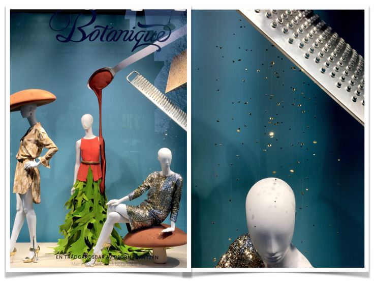 Beautiful window display at NK Stockholm, by JoAnn Tan Studio