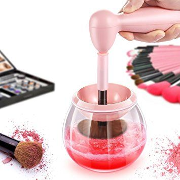 Makeup Brush Cleaner Kit Tool, Seniore Auto Electric Makeup Brushes Cleaner and Dryer Machine 360 Degree… Review