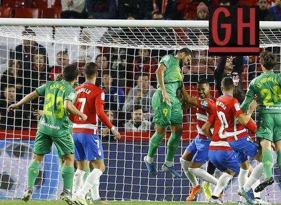 Granada 1 2 Real Sociedad Real Sociedad Santander Football Today