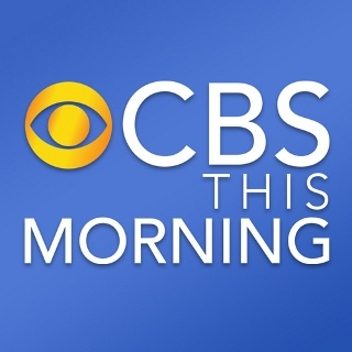 CBS This Morning...love Charlie Rose, Nora O'Donnell, Gayle King.