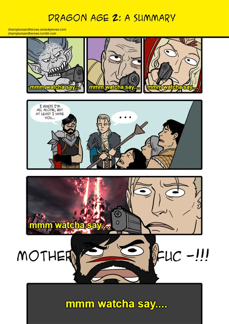 Champions and Heroes - Age of Dragons :: Comics - [Spoilers] Dragon Age 2: a…