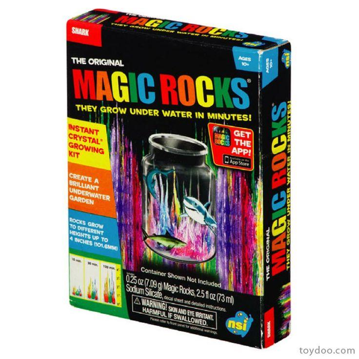 smithsonian magic rocks instructions
