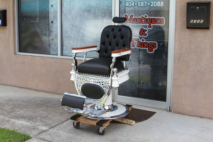 117 Best Restored Antique Barberchairs Images On Pinterest