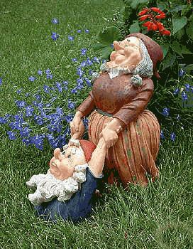 Gnome Garden Ideas marlene kindreds wheelbarrow fairy garden Best 20 Garden Gnomes Ideas On Pinterest