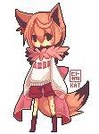 Pixel Chibits COM: Chisakura by hitogata.deviantart.com on @deviantART
