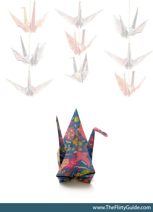 How to Hang 1000 Origami Cranes