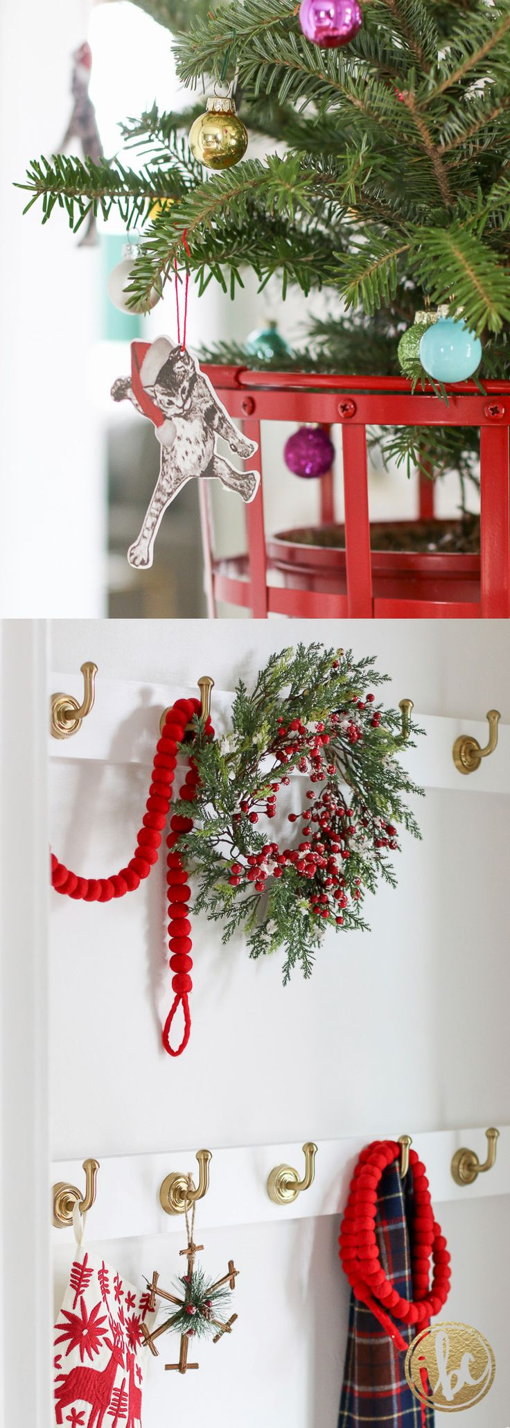 Christmas Holiday Home Decor Ideas. Unique And Fun Ways To Decorate For  Christmas.
