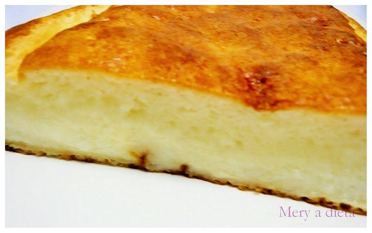 """Tarta de queso, 2 SmartPoints por trozo.  (Para ver la receta pulsar en """"Visitar"""")"""