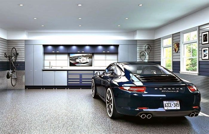 27 Garage Paint Ideas And Tips For Garage Interiors In 2020 Garage Design Garage Interior Garage Floor Epoxy