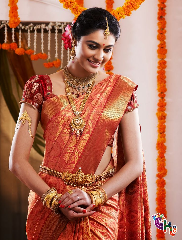 South Indian Bride | Bridal Jewellery | Bridal Saree